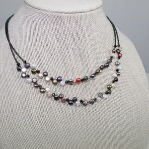 Lia Sophia Multi-color Beaded Necklace